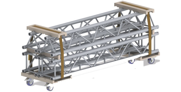 TRUSS TRANSPORTING TROLLEY (TT-01)